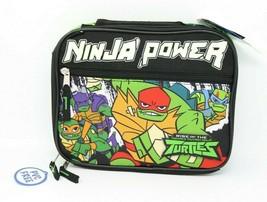 Teenage Mutant Ninja Turtles Ninja Power TMNT Insulated Lunch Bag NWT - $12.84