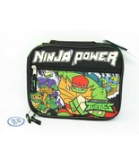 Teenage Mutant Ninja Turtles Ninja Power TMNT Insulated Lunch Bag NWT - $12.84