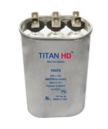 Mars Replacement Titan Hd Run Capacitor 40+7.5 Mfd 440/370V Oval 12889 B... - $22.07