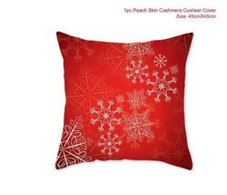 Cotton Linen Merry Christmas Cover Cushion Christmas Decor for Home - 03-3 - $12.99