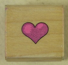 Hero Arts Rubber Stamp Tiny Valentine Heart A150 1991 - $2.59
