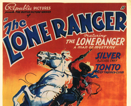 THE LONE RANGER. 15 CHAPTER SERIAL. 1938 - $19.99