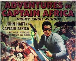 THE ADVENTURES OF  CAPTAIN AFRICA, 15 Chapter Serial - $19.99