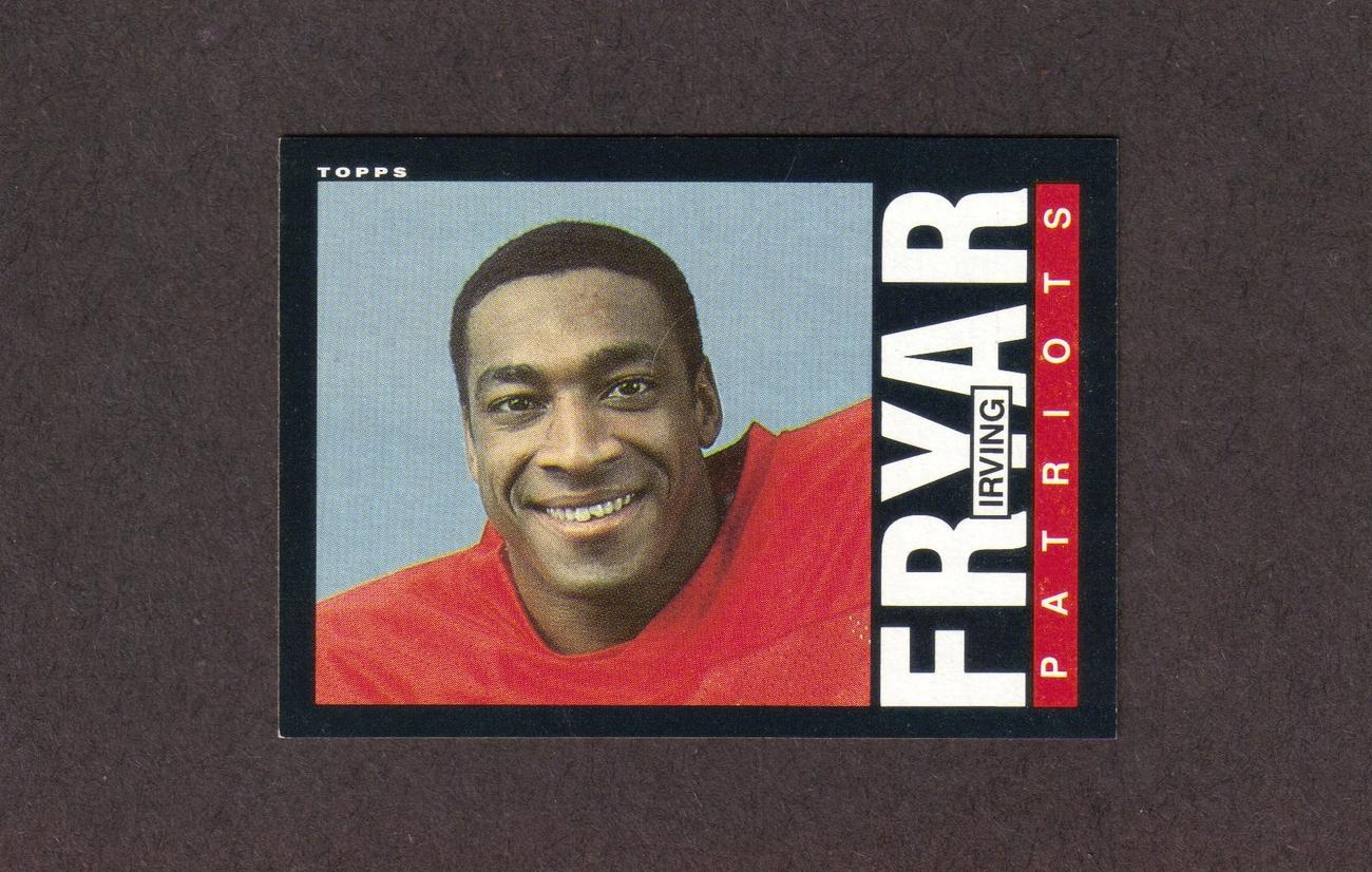 1985 Topps # 325 Irving Fryar Rookie New England Patriots NM Bonanza
