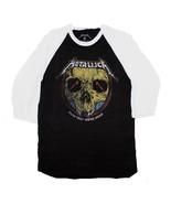Metallica Now that We're Dead Raglan Sleeve Shirt Men's Licensed Band Tee - $29.99