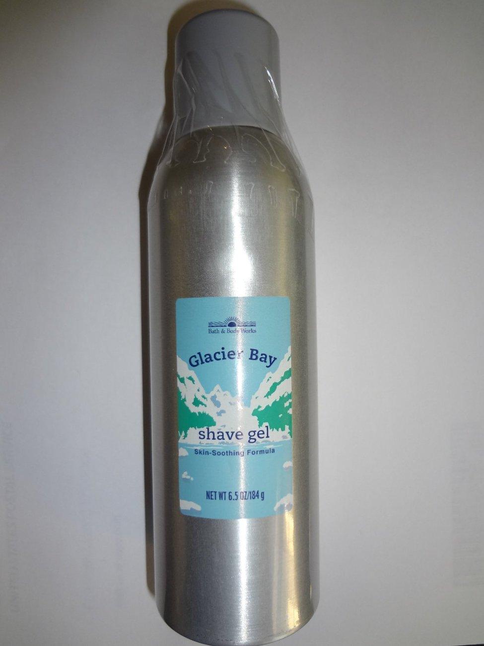 Bath & Body Works Glacier Bay Shave Gel 6.5 oz/ 184 g