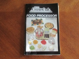 Sears Counter Craft Food Processor 400.822805 Part: Instructions Recipes... - $9.99