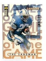 1997 Upper Deck Collector's Choice #67 Barry Sanders Detroit Lions NFL Card - $0.99