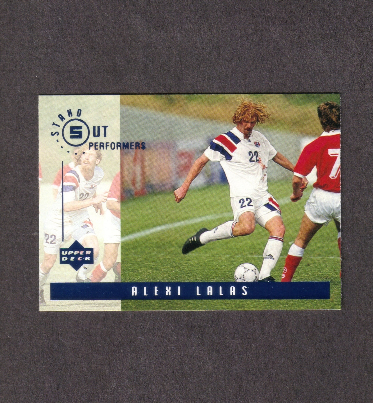 1994 Upper Deck Alexi Lalas Stand Out Performers Bonanza