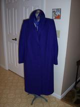 Darci Colby Purple Long Winter Coat Sz 16Wide - $79.99