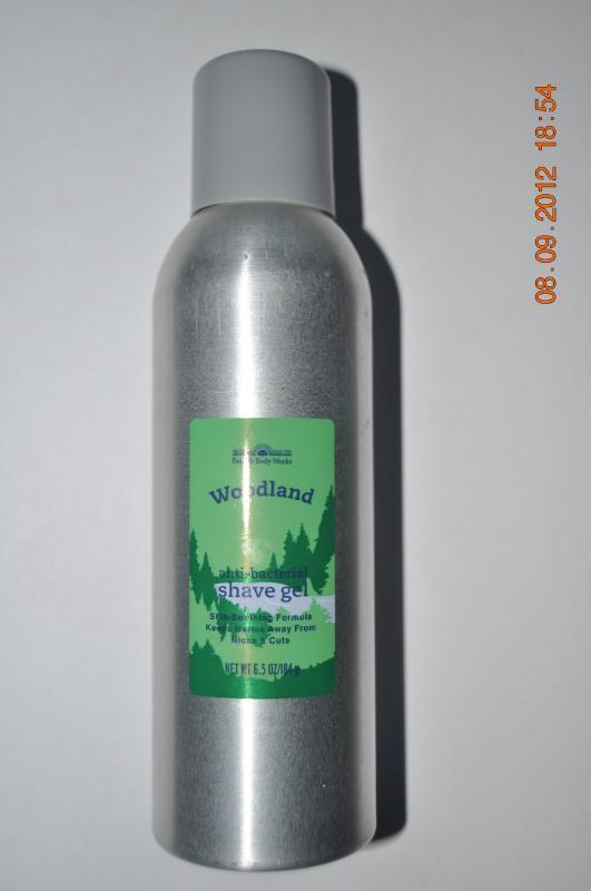 Bath & Body Works Woodland Shave Gel 6.5 oz /184 g