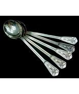 5 Old Primans Fine Silver Plate Demitasse Spoons Sweden  - $9.00