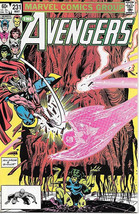 The Avengers Comic Book #231, Marvel Comics 1983 NEAR MINT NEW UNREAD - $5.48