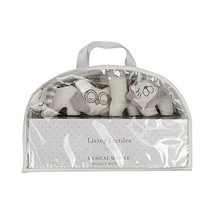 Living Textiles Musical Mobile - White/Grey - Sturdy Design Is Easy To I... - $56.36
