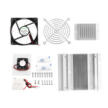 Semiconductor Refrigerator Kit DIY Small Air Conditioner Mini Cooling Eq... - $31.70