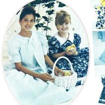 Childrens Girls Dress Jacket Sewing Pattern Uncut Chest 21 22 23 Pettico... - $9.79