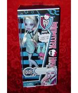 Monster High Dead Tired Abbey Bominable Daughter of The Yeti doll - $22.00