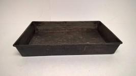"Vintage Ekco Cake Pan Folded Edges No. 633 Rectangle 13"" x 9"" x 2"" - $11.76"