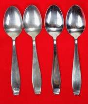 4X Teaspoons Spoons International Silver Cirque Stainless Glossy Flatwar... - $47.52