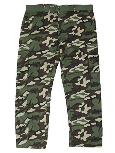 Men's Tactical Combat Military Army Cargo Pants Trousers Big Plus Sizes (46W, Ca