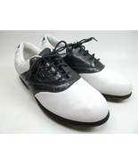 NIKE White Leather Golf Airliner Shoes Womens Size 7 Eur 38 - $19.39