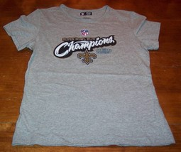 WOMEN'S NEW ORLEANS SAINTS NFL SUPER BOWL CHAMPIONS T-shirt SMALL NEW FO... - €17,57 EUR