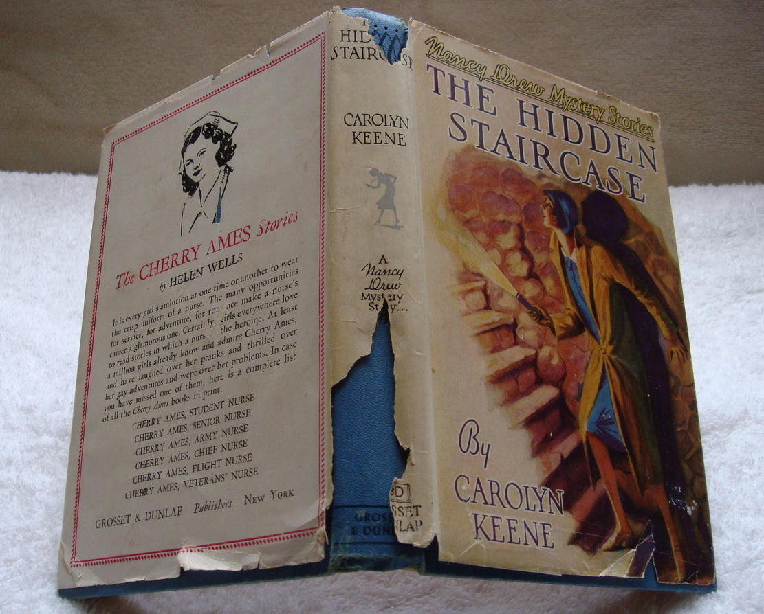 Nancy Drew 2 The Hidden Staircase 1947A-51 hcdj