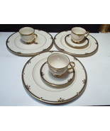 8 Pieces Lenox Potomac ~ 3 dinner ~ 2 saucers ~ 3 cups ~~ fill ins - $59.95