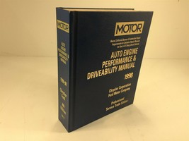 1996-1998 MOTOR Auto Engine Performance & Driveability Manual Chrysler Ford - $124.99