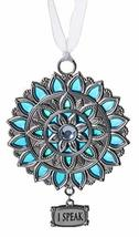 Gnz Attractive Zinc Chakra Ornaments in Your Choice of Style (Throat Chakra, I S - $6.88