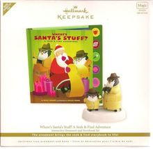 "Hallmark Ornament    ~   2011 STORYBOOK SET  /  "" Where's Santa's Stuff "" - $18.95"