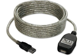 Tripp Lite Cable USB Certified 2.0 active Extension Cable 16FT 037332120588 - $18.53