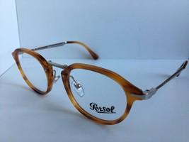 9467033f9605e New Persol 3168-V 960 Yellow Havana 48mm Calligrapher Edition Eyeglasses  Frame -  71.99
