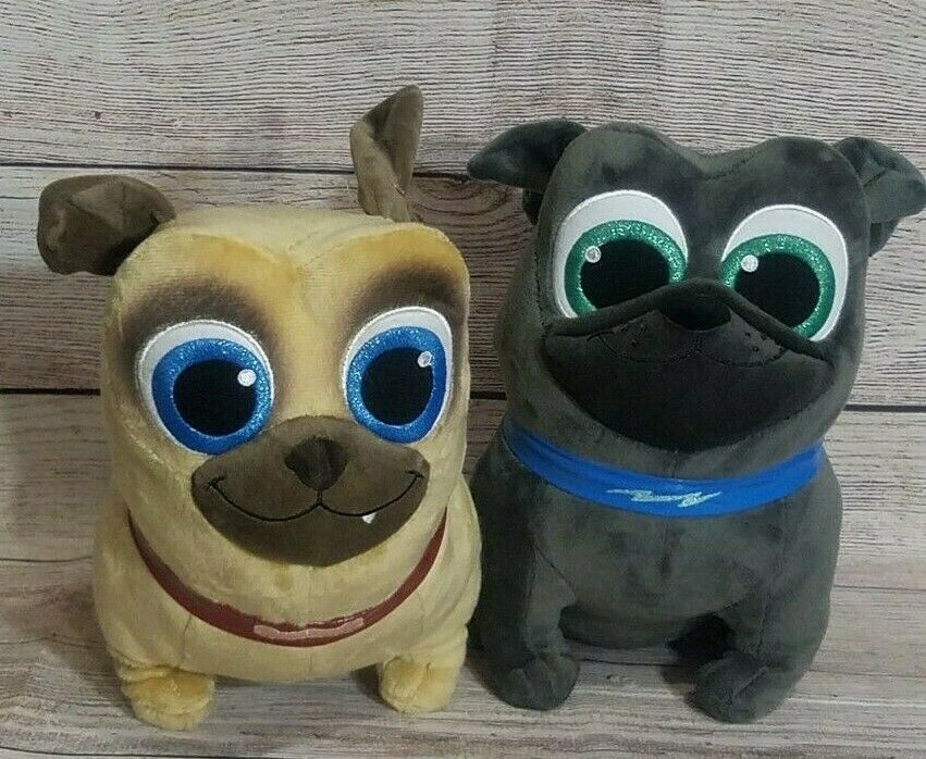 Primary image for Disney Store Puppy Dog Pals Plush Bingo Rolly Stuffed Animal Bean Bag 12""