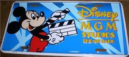 Disney Mickey MGM Studios License Plate Ship World - $49.99