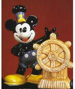 Disney Mickey Steamboat Willie Salt & Pepper - $54.99