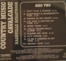Country Music Cavalcade (disc 2 ) Cd image 2