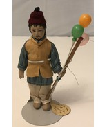 """Vintage Handmade Balloon  Khilowna - Seller India 7"""" Fabric With Stand - $14.03"""