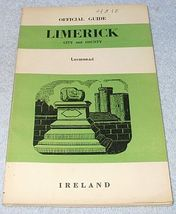 Ireland Official Tourist Guide Book Limerick City County Ca 1955 - $9.95