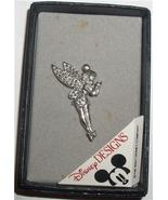 Disney Tinker Bell Sterling Silver marquisate Pin Brooch Tinkerbelle  Pi... - $125.00