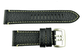 Luminox Series 1860 Field 26mm Watch band Strap Buffalo Leather Creamy S... - $71.95