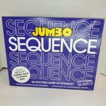 "1996 Jax Jumbo Sequence Card Strategy Game 32"" x 27"" Giant Playing Mat - $33.90"