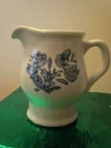 Vintage Pfaltzgraff Yorktowne Creamer &  Sugar Bowl with Handles, no lid - $9.89