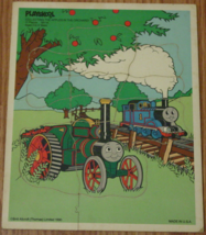 PUZZLE COLLECTING THE APPLES IN THE ORCHARD BRITT ALLCROFT (THOMAS) LIMI... - $6.00