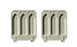 Spellcrow Conversion Bits Gothic Doors for Light Vehicles Battle Sisters