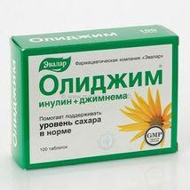 Evalar - Olidzim Tablets - Against Increased Blood Sugar Level - 100 Tablets - $35.00