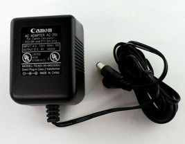 OEM Canon AC Power Adapter, AC-350 for CANON Calculator P23-DH & P11-DH ... - ₹905.79 INR