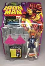 Toy Biz Marvel Comics Iron Man Spider-Woman web hurl 5in Action Figure 1... - $9.50