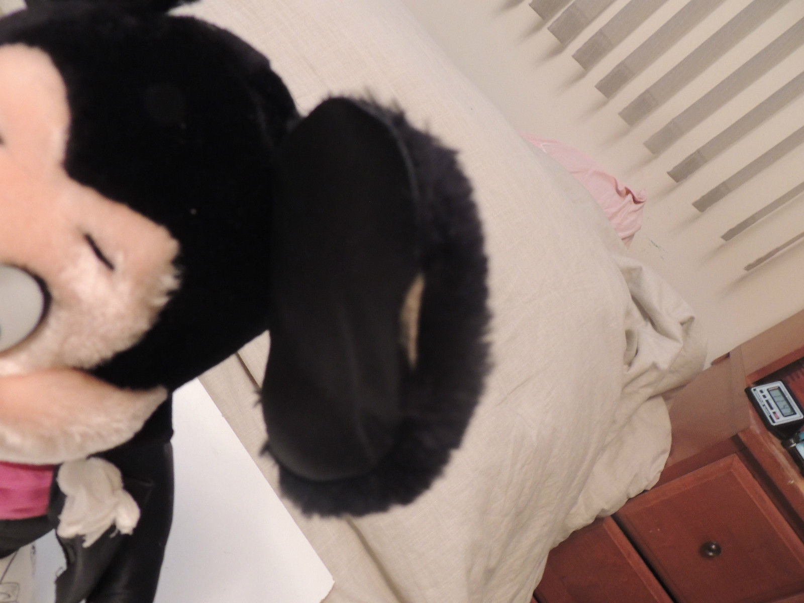 """Vintage APPLAUSE Mickey Mouse in Tuxedo Plush Toy Doll 18"""" 1987 w Tag Rare"""