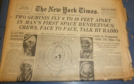 The New York Times Newspaper December 16,1965 - $5.95